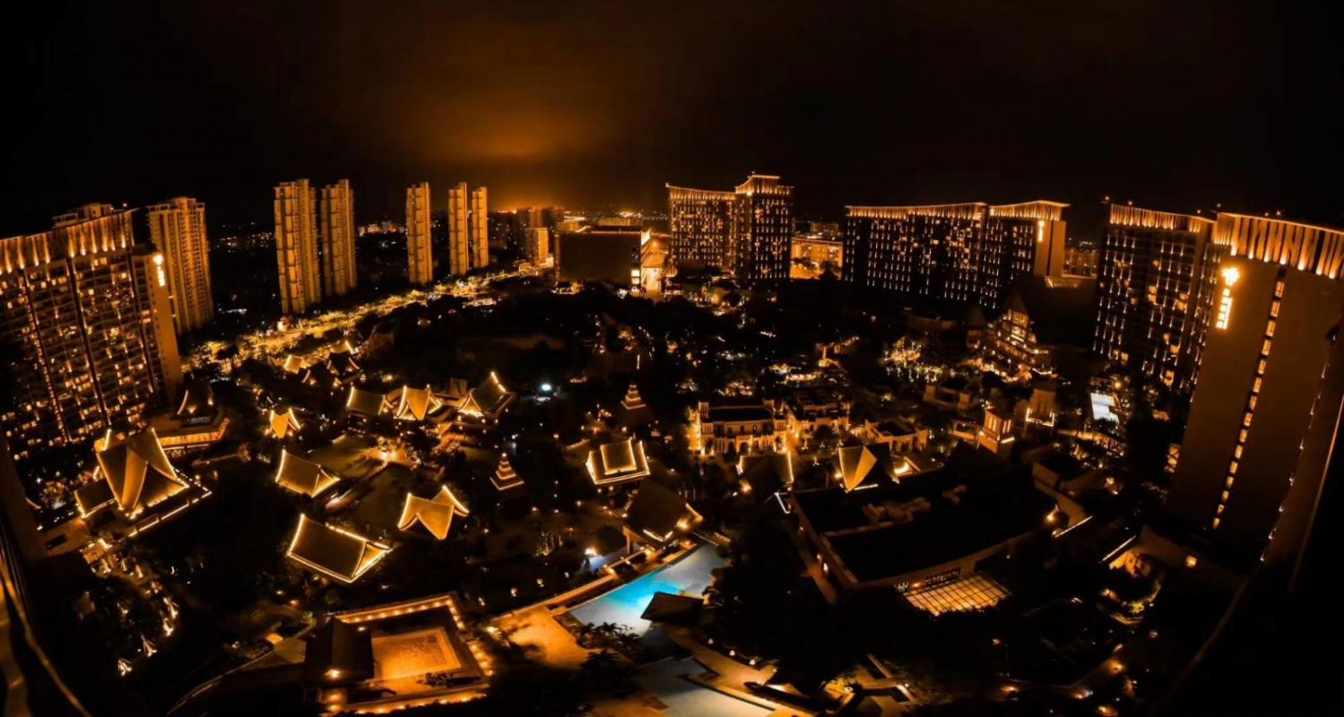 三亚湾红树林度假世界全景