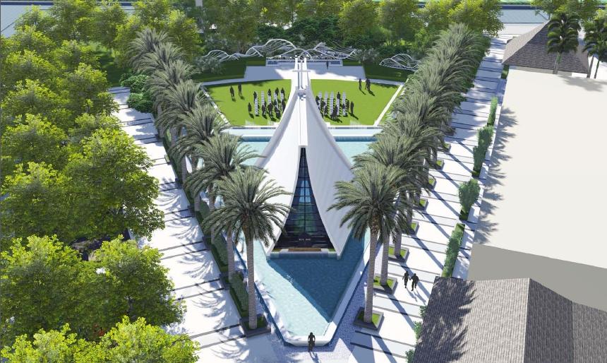 红树林度假世界婚礼广场